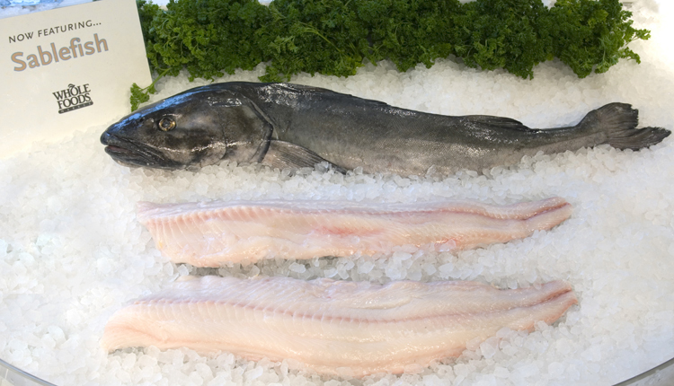 Sablefish are among the many delicious and sustainable seafood choices.<div class='credit'><strong>Credit:</strong> Sablefish are among the many delicious and sustainable seafood choices.</div>
