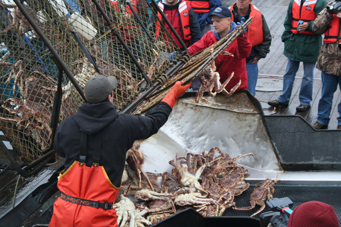 King Crab Fishing in Alaska<div class='credit'><strong>Credit:</strong> King Crab Fishing in Alaska</div>