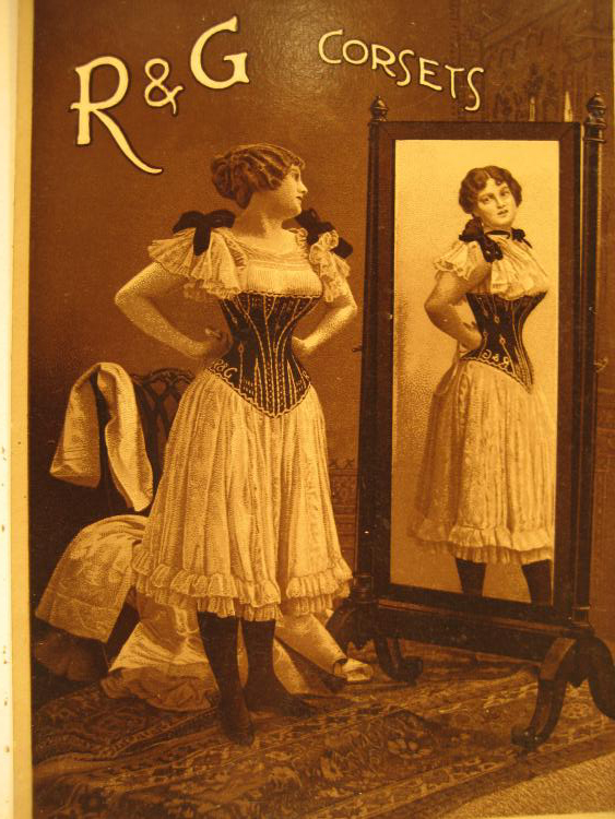 In the 19th century, many women wore tight corsets that were stiffened with stays made from baleen.<div class='credit'><strong>Credit:</strong> In the 19th century, many women wore tight corsets that were stiffened with stays made from baleen.</div>