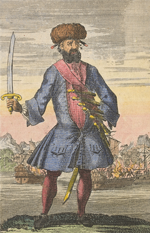 Blackbeard the Pirate engraving<div class='credit'><strong>Credit:</strong> Blackbeard the Pirate engraving</div>