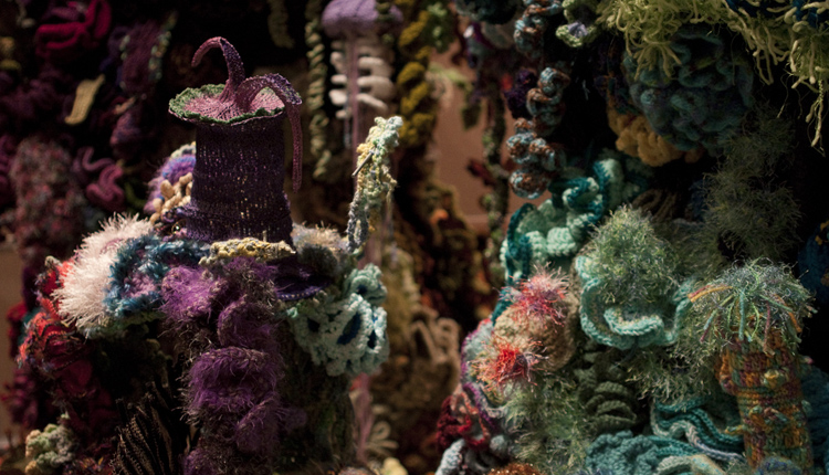 The Smithsonian Community Crochet Reef<div class='credit'><strong>Credit:</strong> The Smithsonian Community Crochet Reef</div>