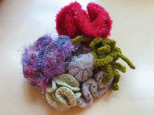 Hyperbolic Crochet Coral Forms<div class='credit'><strong>Credit:</strong> Hyperbolic Crochet Coral Forms</div>