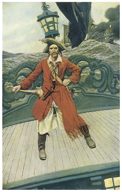 Pirate on the high sea<div class='credit'><strong>Credit:</strong> Pirate on the high sea</div>