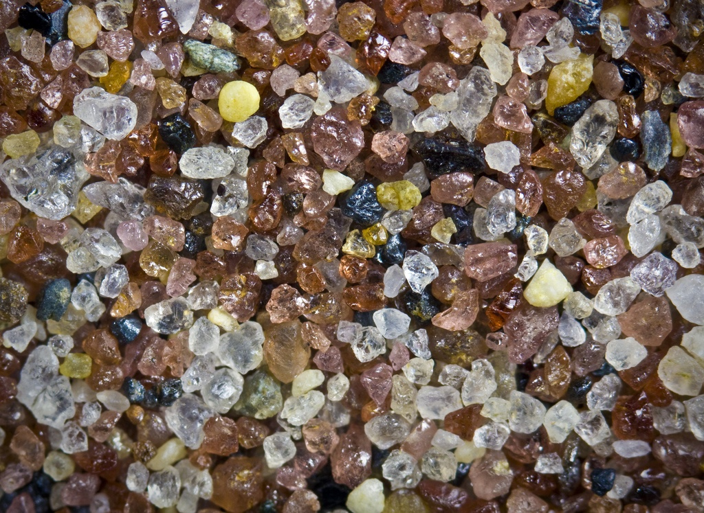 grains of sand collected from Orient Point, Long Island, NY<div class='credit'><strong>Credit:</strong> grains of sand collected from Orient Point, Long Island, NY</div>