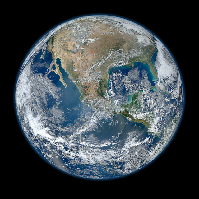 'Blue Marble' image of the Earth taken from the VIIRS instrument aboard NASA's satellite - Suomi NPP.<div class='credit'><strong>Credit:</strong> 'Blue Marble' image of the Earth taken from the VIIRS instrument aboard NASA's satellite - Suomi NPP.</div>