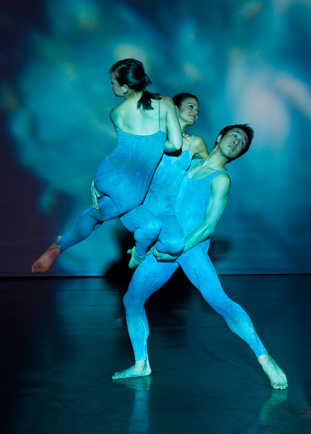 Three dancers dependent on one another, as in the food web.<div class='credit'><strong>Credit:</strong> Three dancers dependent on one another, as in the food web.</div>