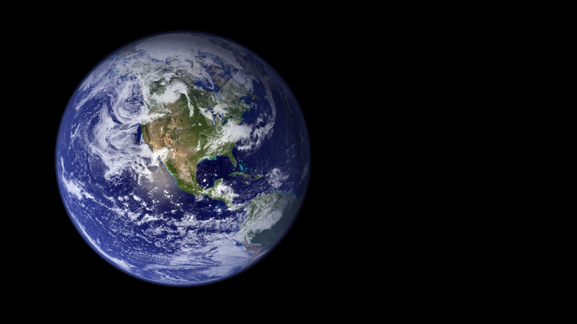 Earth as seen from a satellite.<div class='credit'><strong>Credit:</strong> Earth as seen from a satellite.</div>