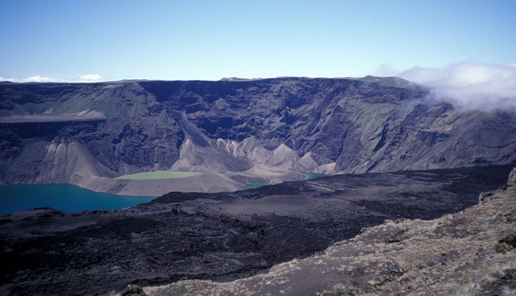 Giant tortoise habitat on Galapagos Islands.<div class='credit'><strong>Credit:</strong> Giant tortoise habitat on Galapagos Islands.</div>