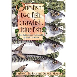 One fish, two fish, crawfish, bluefish book cover displaying four fish<div class='credit'><strong>Credit:</strong> One fish, two fish, crawfish, bluefish book cover displaying four fish</div>