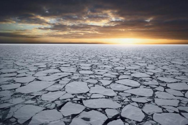 Every year as the sun disappears for the winter, the surface waters around Antarctica freeze into a slab of ice 10-feet thick, which effectively doubles the size of the continent.