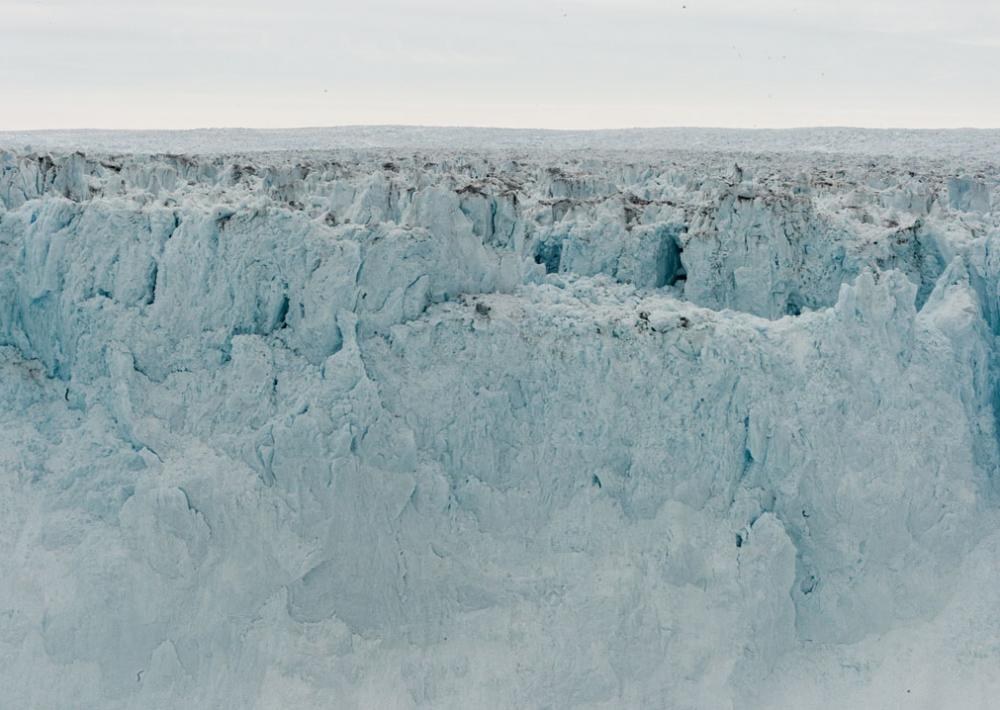 The Greenland glacier Jakobshavn Isbrae is massive, at around 40 miles long and more than a mile thick.