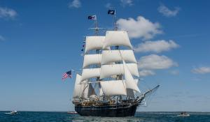The Charles W. Morgan tallship