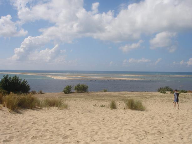 The Banc d'Arguin National Park site in Mauritania was inscribed on the World Heritage List in 1989. Fringing the Atlantic coast, the park comprises sand dunes, coastal swamps, small islands, and shallow coastal waters. A wide variety of migrating birds sp