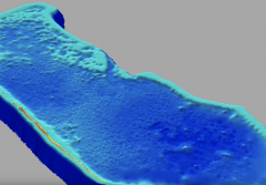a topographic map of Majuro