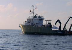 a research vessel