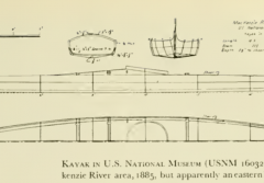 a sketch of a kayak design