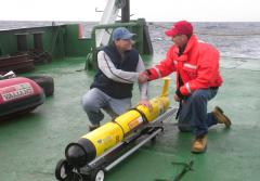Rutgers oceanographers and robotic glider