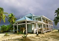 The Carrie Bow Cay Marine Field Station supports marine research year-round.