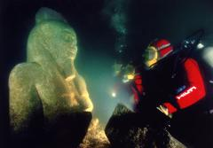 In Egypt, Dr. Jean-Daniel Stanley of the Smithsonian studies submerged ancient settlements.