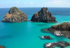 The Brazilian Atlantic Islands site was inscribed on the World Heritage List in 2001. The rich waters of the Fernando de Noronha Archipelago and Rocas Atoll are extremely important for the breeding and feeding of tuna, shark, turtle, and marine mammals. Th