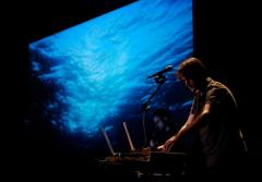 Sound artist Halsey Burgund performs his composition Ocean Voices.