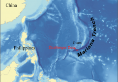 The deepest point on earth is the Mariana Trench.