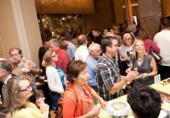 Guests at Smithsonian's Natural History Museum's 2010 sustainable seafood event