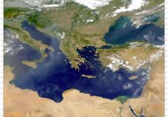 As a semi-enclosed sea, the Mediterranean is very sensitive to pollution.